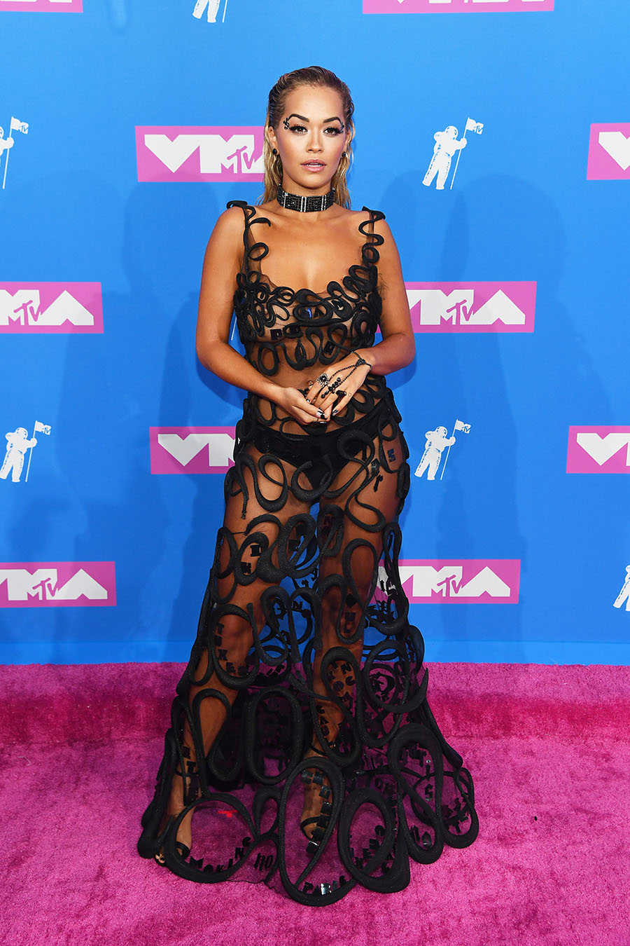 Rita Ora Attends The 2018 MTV Video Music Awards At Radio