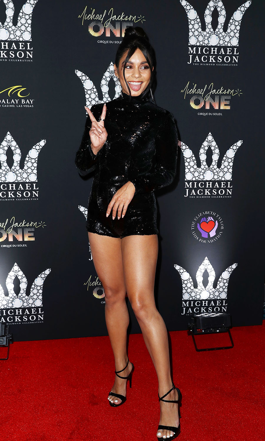 Vanessa Hudgens Attend Michael Jackson Diamond Birthday Celebration Photo By Judy Eddy Wenn Com