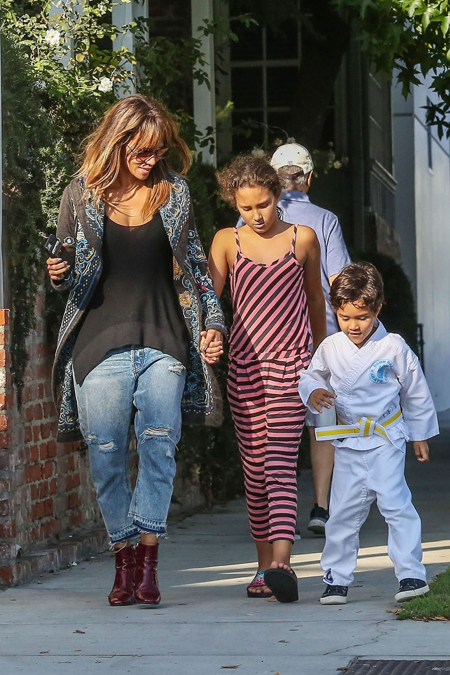 halle berry and kids 2018