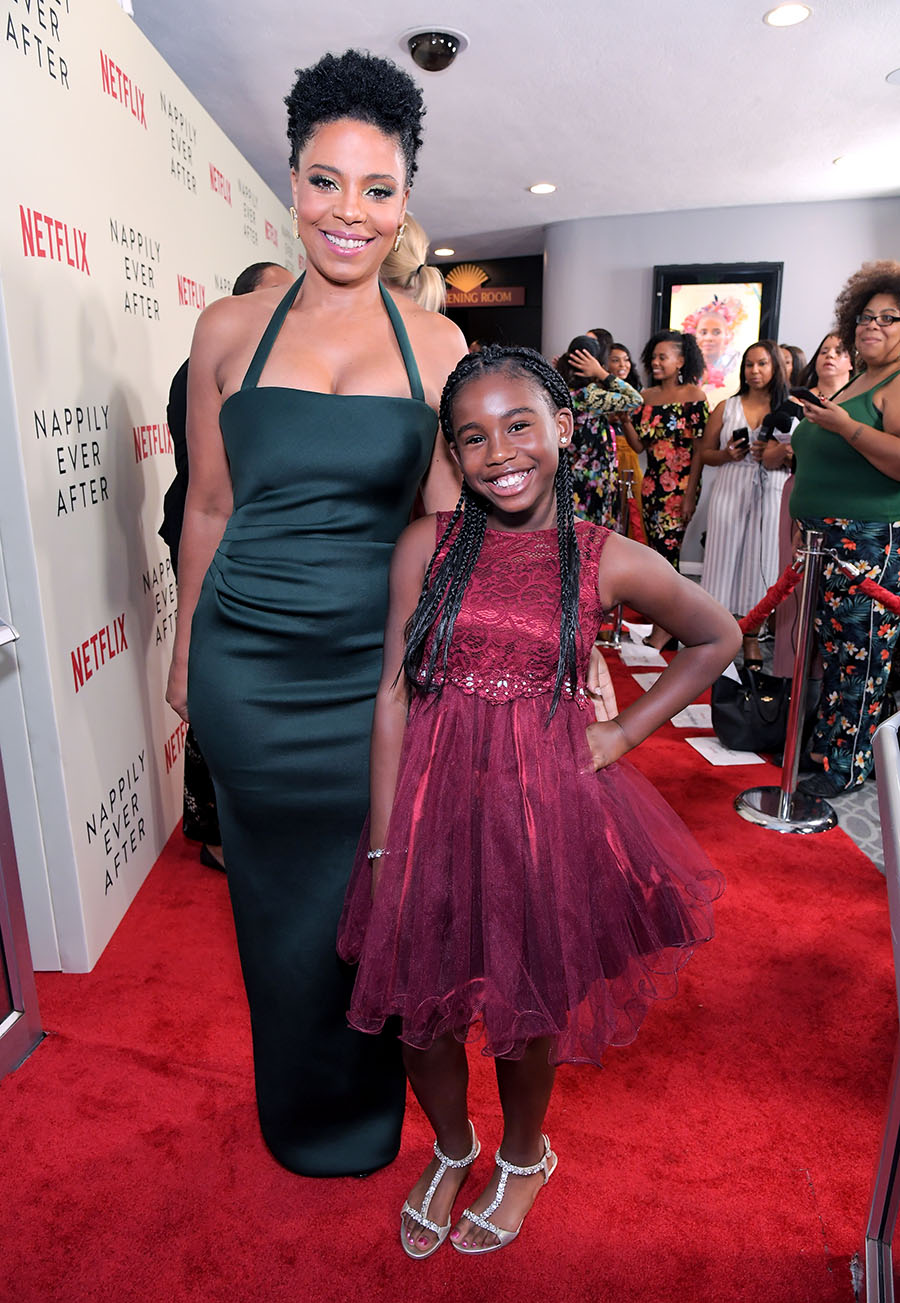 Sanaa Lathan L And Actress Daria Johns Attend The Afterparty For A Screening Of Netlfix S