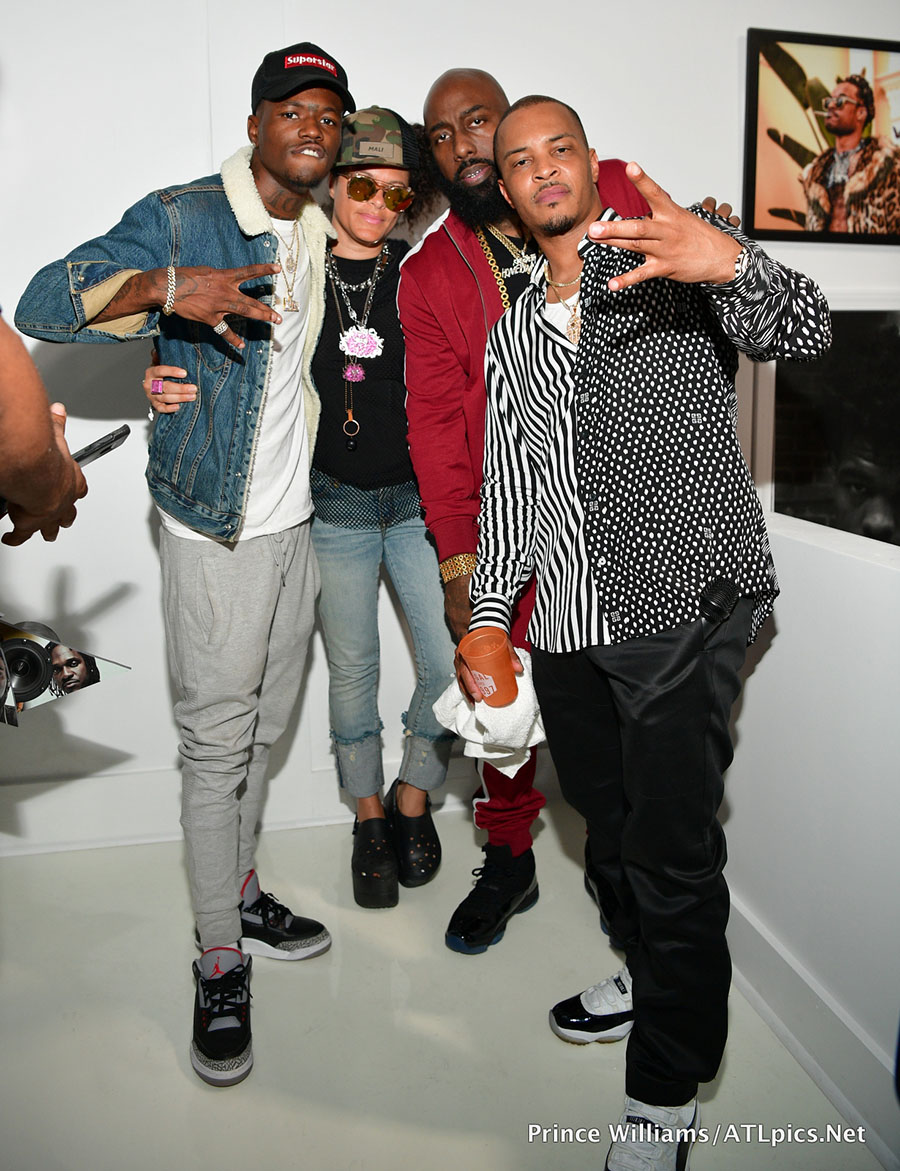 L R Dc Young Fly Mali Hunter Tre Tha Truth And T I
