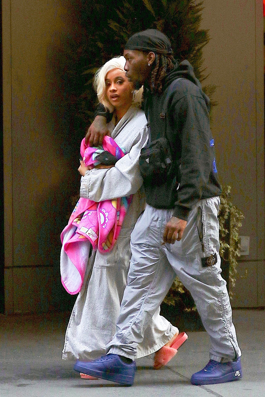 Celebs Out & About: Offset Consoles Cardi B After Assault