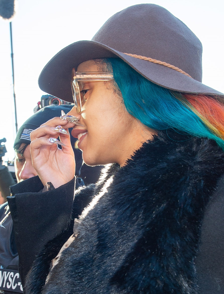Cardi B Court: PICS: Cardi B Arrives To Criminal Court In Queens