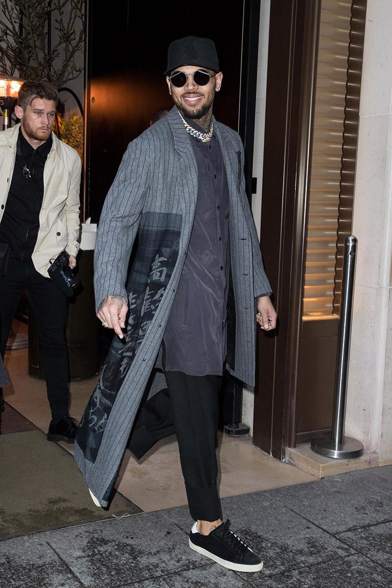 Fashion: Stars Attend Louis Vuitton Menswear F/W 2019-2020