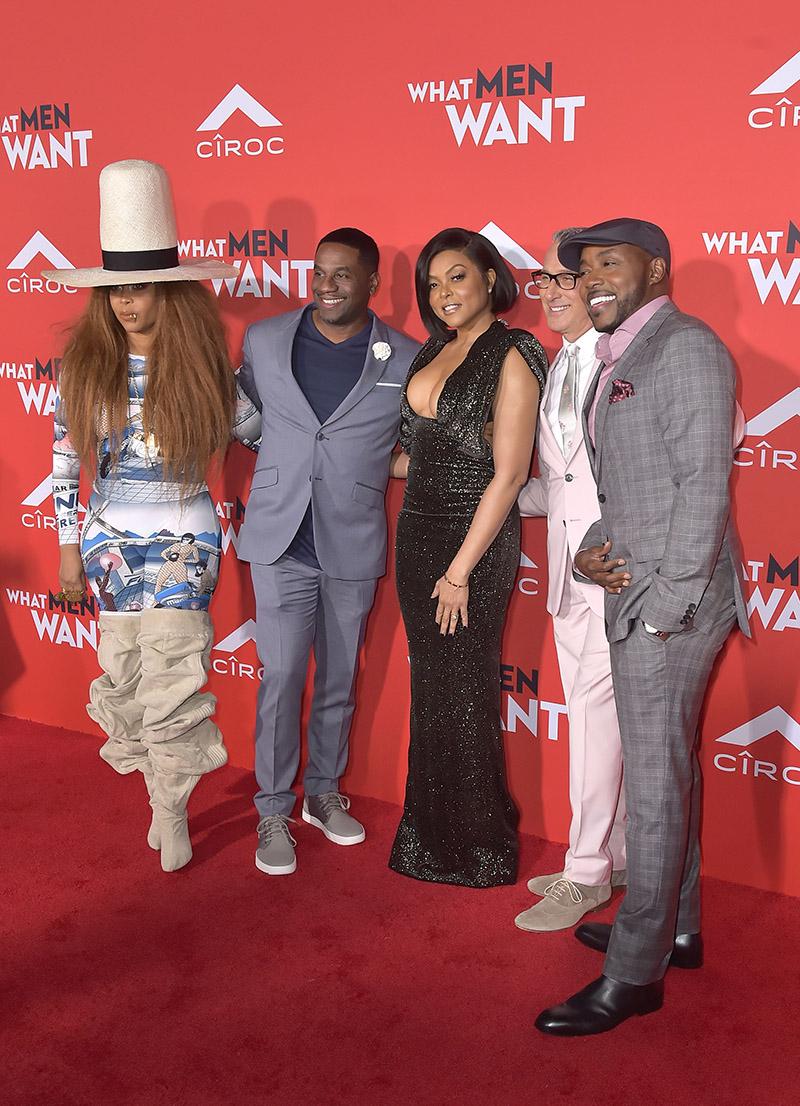 Pics Stars Attend What Men Want L A Premiere