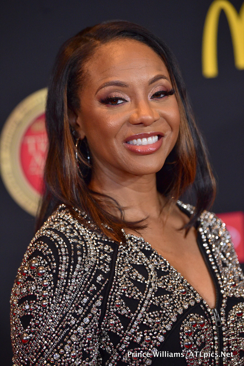 Mc Lyte Attends The 2019 Bounce Trumpet Awards Held At The