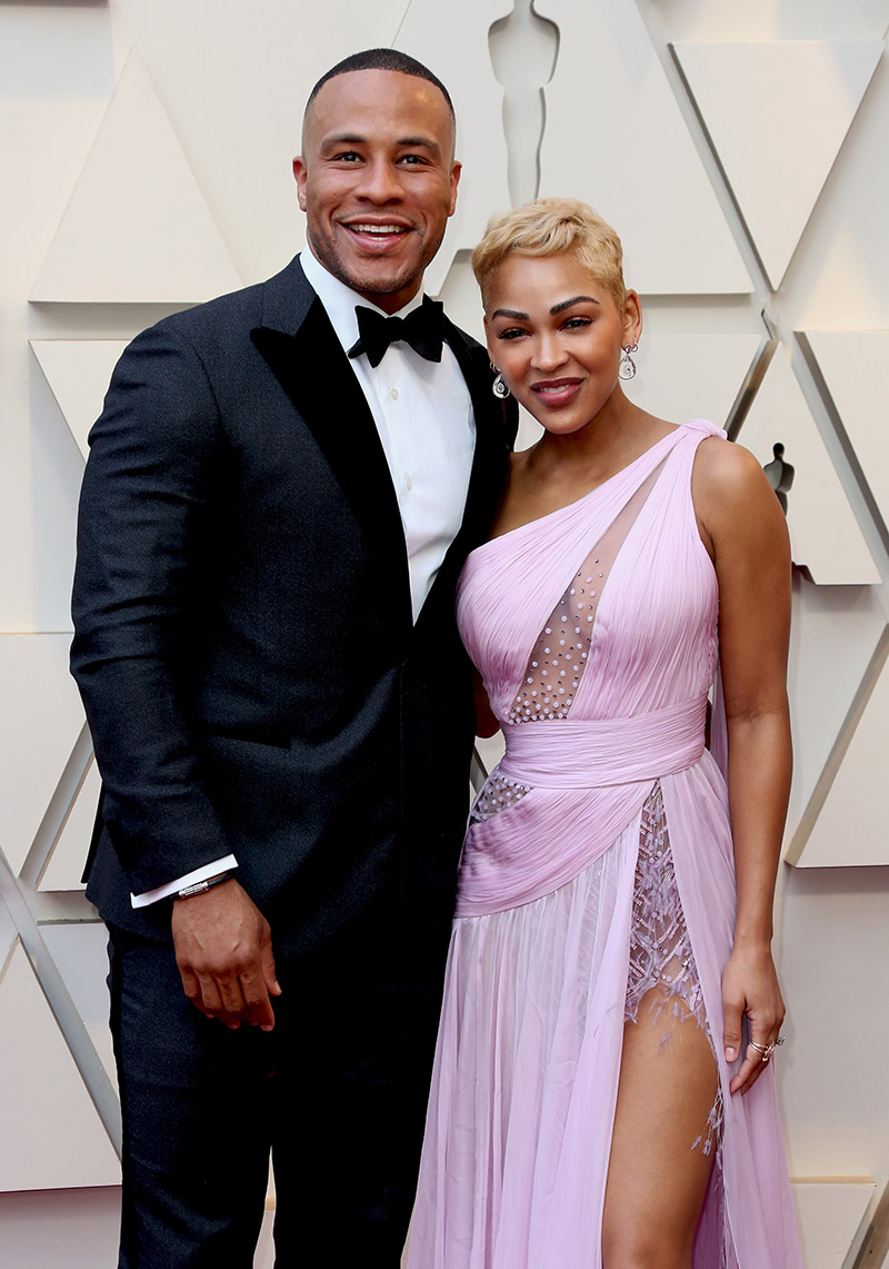 DeVon Franklin, Meagan Good at the 91st Academy Awards