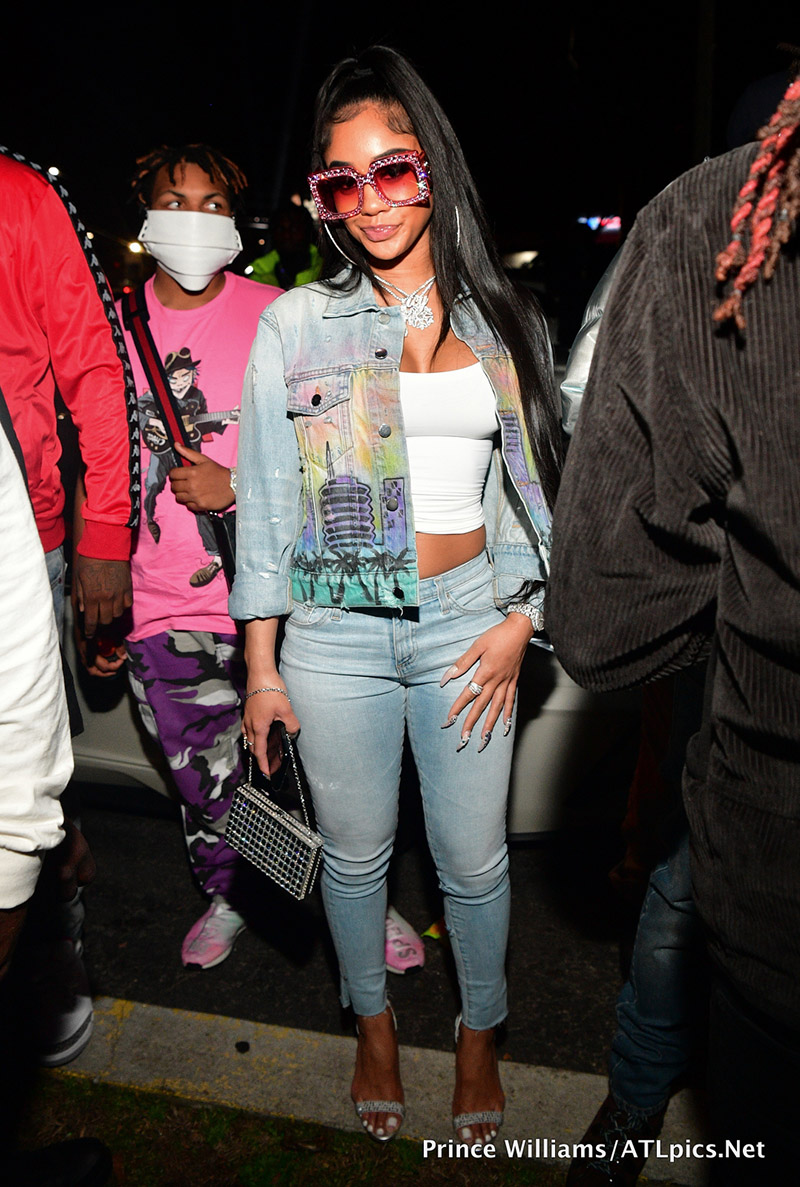 Saweetie Attends Quality Control Records 1st Annual