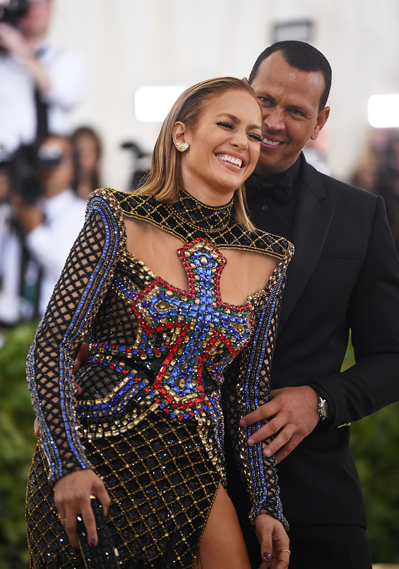 0e6512d6152 Jennifer Lopez and Alex Rodriguez attends the Heavenly Bodies  Fashion    The Catholic Imagination Costume Institute Gala at The Metropolitan Museum  of Art ...