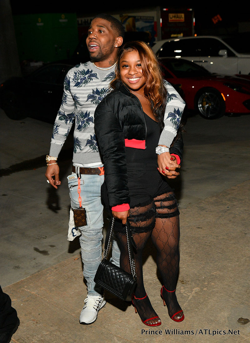 Yfn Lucci And Reginae Carter At 2 Chainz S Album Release