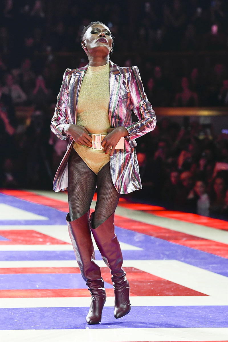 Supermodel Grace Jones Closed The Tommy X Zendaya Runway