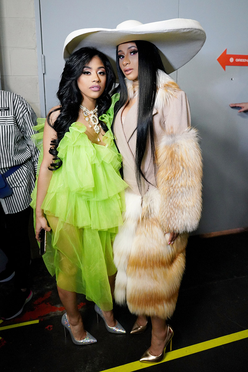 Hennessy Carolina And Cardi B Attend Beautycon Festival