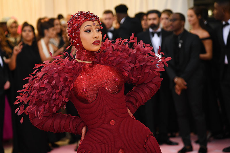 Cardi B Attends The 2019 Met Gala Celebrating Camp Notes