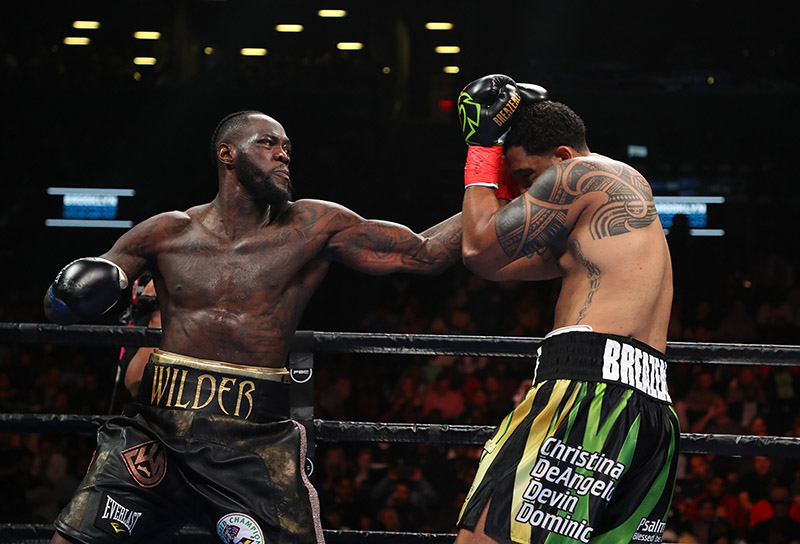 The Real Reason For The Bad Blood Between Deontay Wilder And Dominic