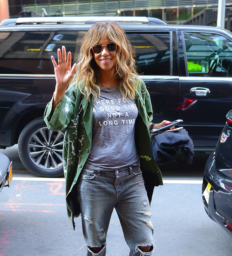 Halle Berry Is Quot Here For A Good Time Not A Long Time Quot As