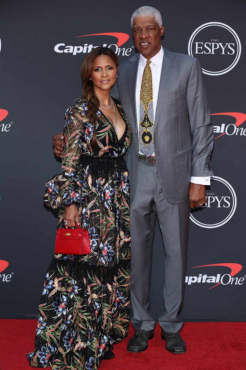 Dor 253 S Madden And Julius Erving Attend The 2019 Espys At