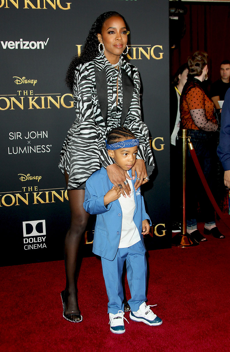 Kelly Rowland Son Titan Jewell Attend The Hollywood