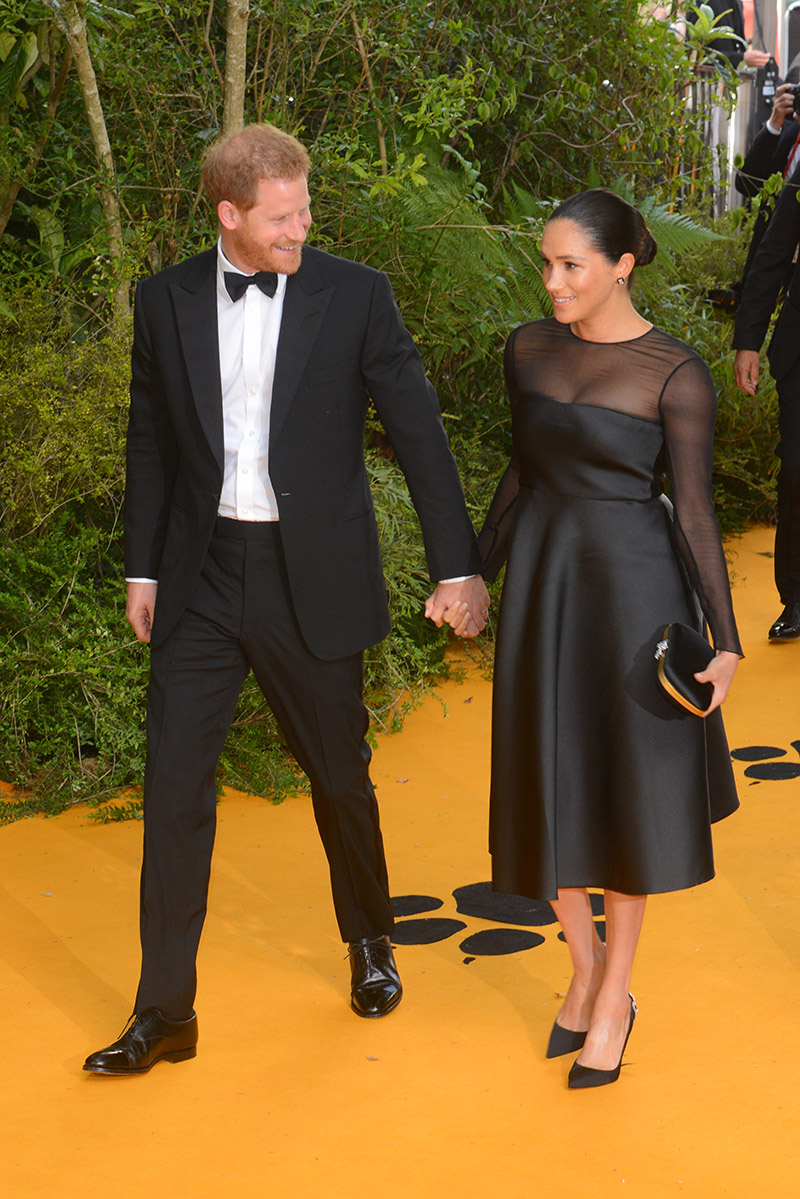 Prince Harry And Meghan Markle Attend European Film