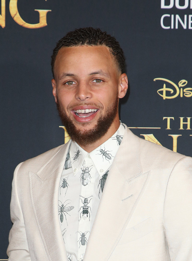 Steph Curry attends the Hollywood Premiere of Disney's ...