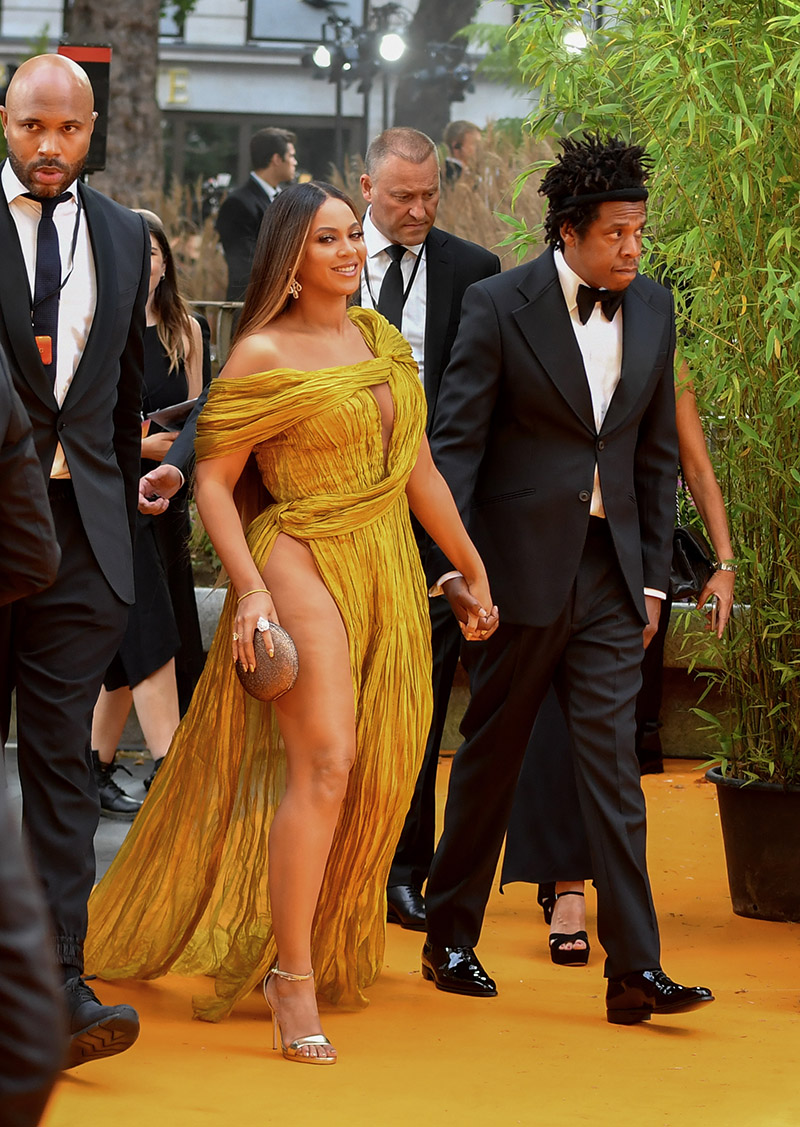 Beyonce Knowles Carter And Jay Z Attend The European