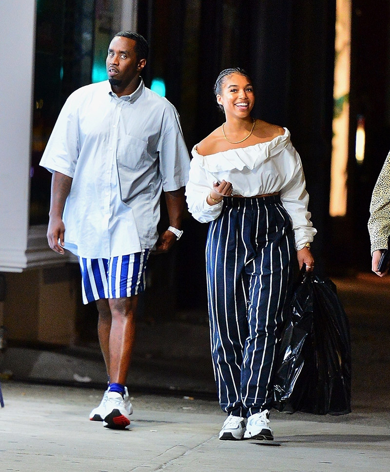Sean Quot Diddy Combs Is Spotted On A Stroll With Rumored New