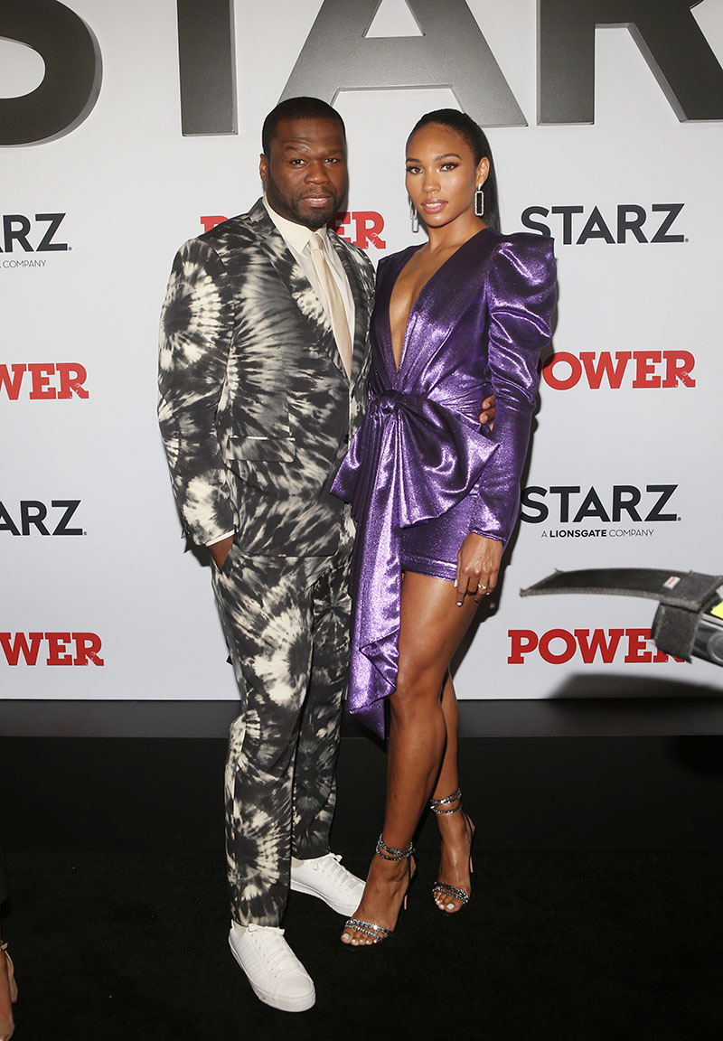 50 Cent And Jamira Haines Attend Power Final Season World