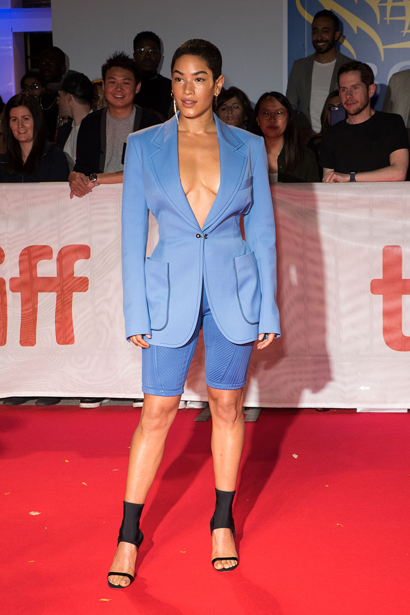 Mette Towley Attended The Red Carpet At The 44th Toronto