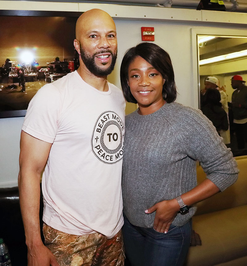 The Internet is convinced that rapper Common and Tiffany