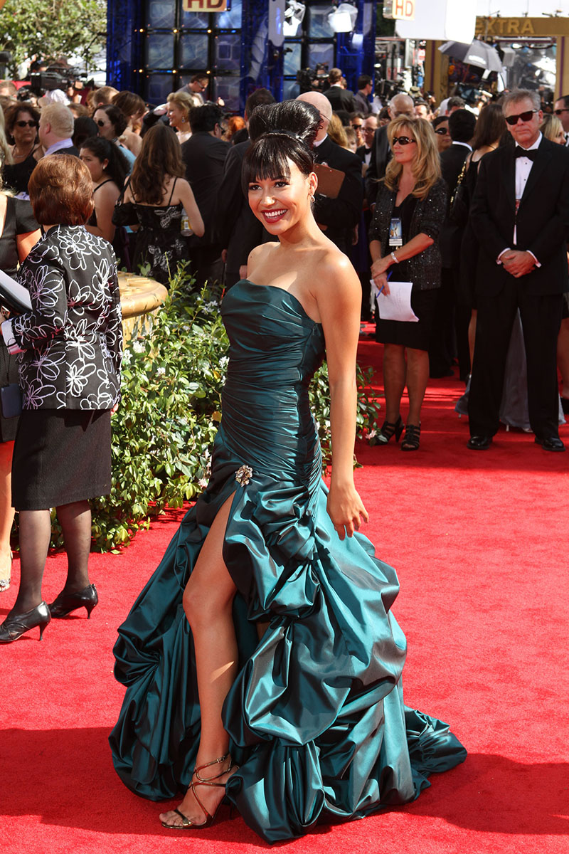 Naya Rivera at 62nd Primetime Emmy Awards (The Emmys) held